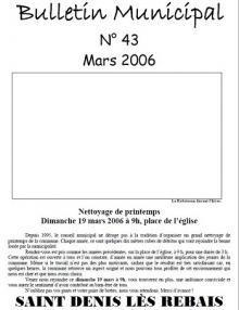 Vignette bulletin n°43